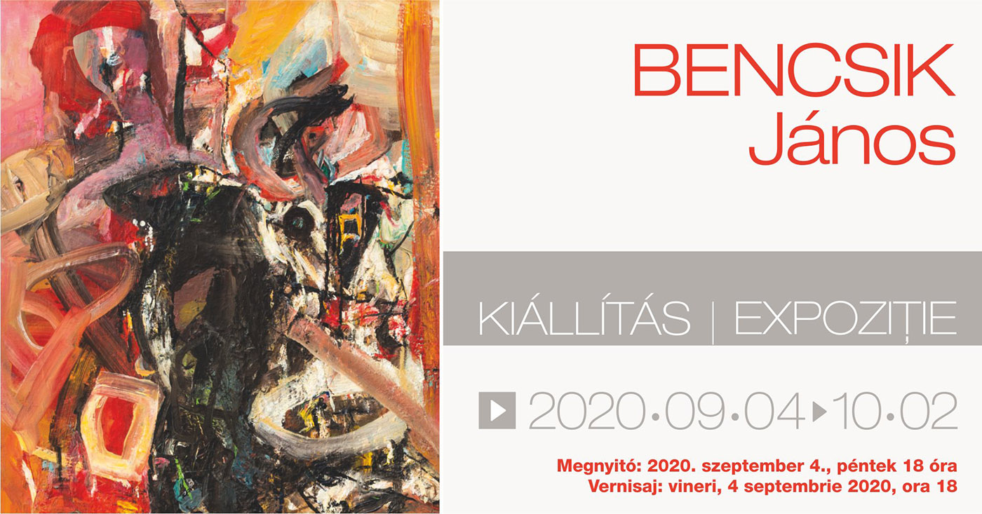 Exhibition of János Bencsik